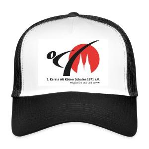 Retro-Cap mit Logo - Trucker Cap