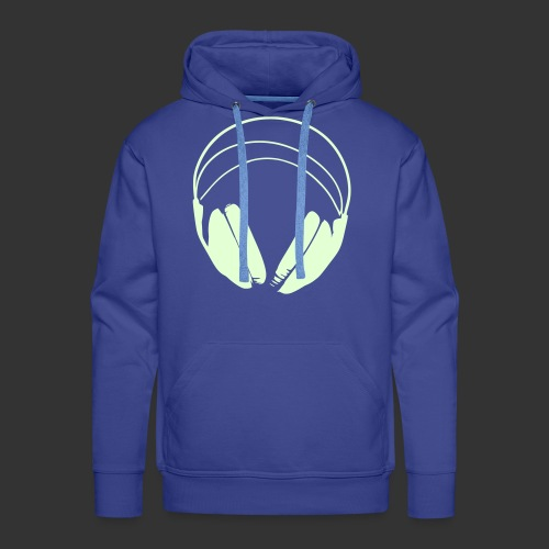 Hoodie logo podradio - Sweat-shirt à capuche Premium pour hommes