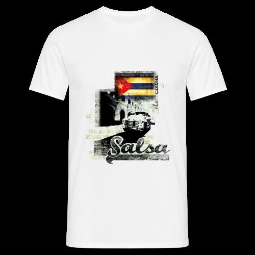 Salsa De Cuba, T-Shirt - Männer T-Shirt