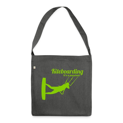 Kiteboarding Passion Tasche – Ralley - Schultertasche aus Recycling-Material