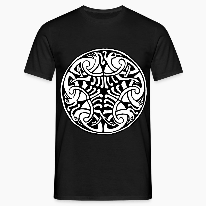 Celtic Art Bird Pattern