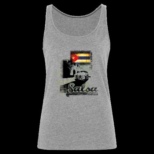 Salsa De Cuba, T-Shirt - Frauen Premium Tank Top