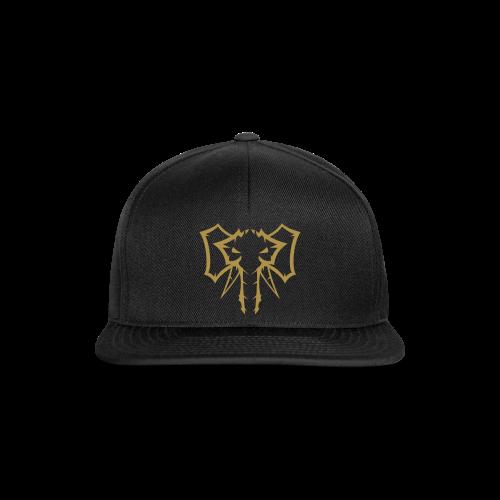 Elephant Gold glitter  - Herre Snapback Cap - Snapback Cap
