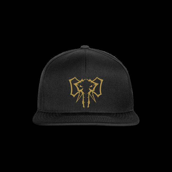 Elephant Gold glitter  - Herre Snapback Cap