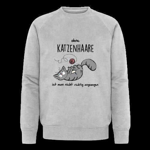 ohne Katzenhaare - Männer Bio-Sweatshirt von Stanley & Stella