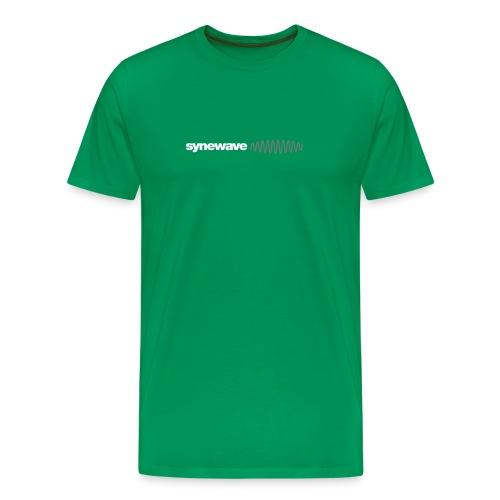 Synewave Classic Green T-Shirt - Men's Premium T-Shirt