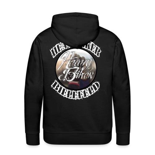 heavybiker ♠ VIP ♠ Crew Hoddie Limited Edition nur bis 24.12  - Männer Premium Hoodie