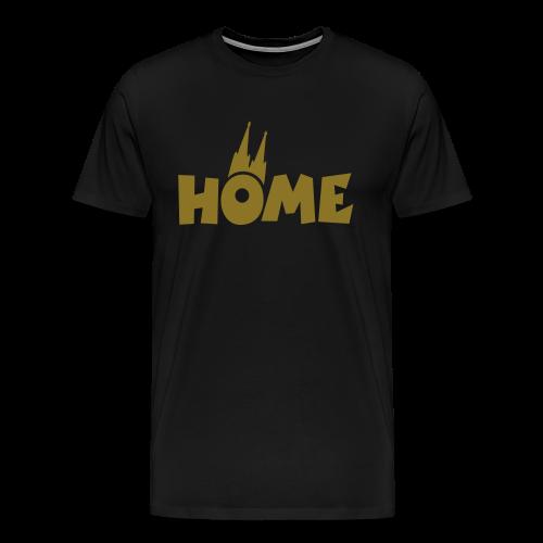 Home Dom Gold S-5XL T-Shirt - Männer Premium T-Shirt