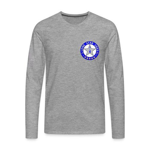 Lone Star Ukes Men's Long Sleeve Shirt - Men's Premium Longsleeve Shirt