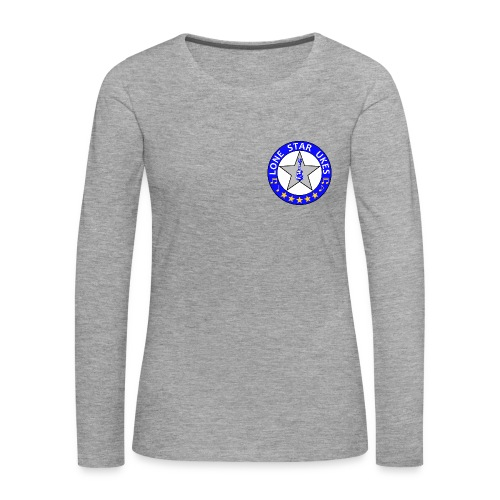 Lone Star Ukes Women's Long Sleeve Shirt - Women's Premium Longsleeve Shirt