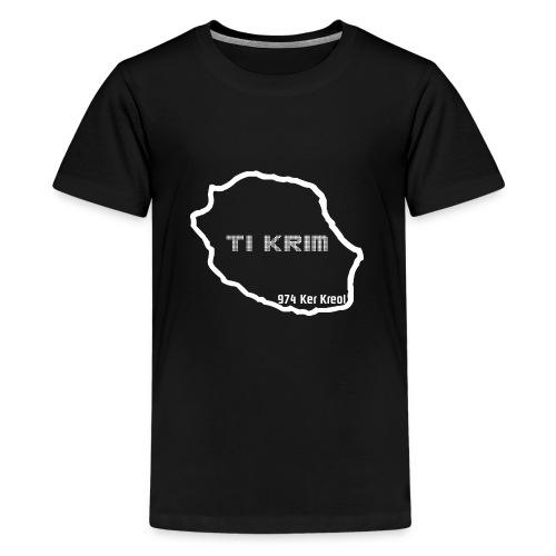 T-shirt Premium Ado Ti Krim - T-shirt Premium Ado