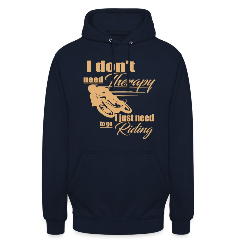 Riding Therapy Kapuzenpullover - Unisex Hoodie
