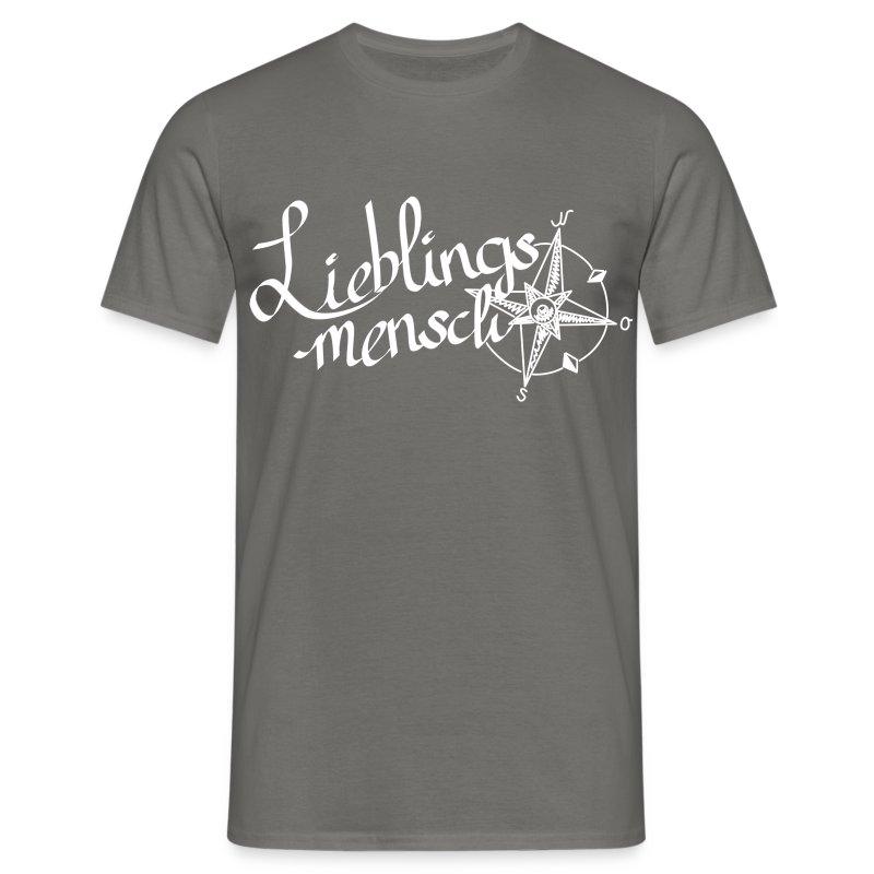 Lieblingsmensch - Männer T-Shirt