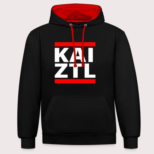 Kaizo & Zottel - Hoodie - Kontrast-Hoodie