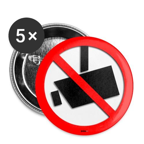 Überwachungsstaat - Buttons mittel 32 mm