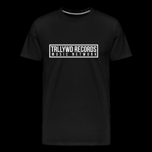 TRLLYWD Records | Logo | White - Männer Premium T-Shirt
