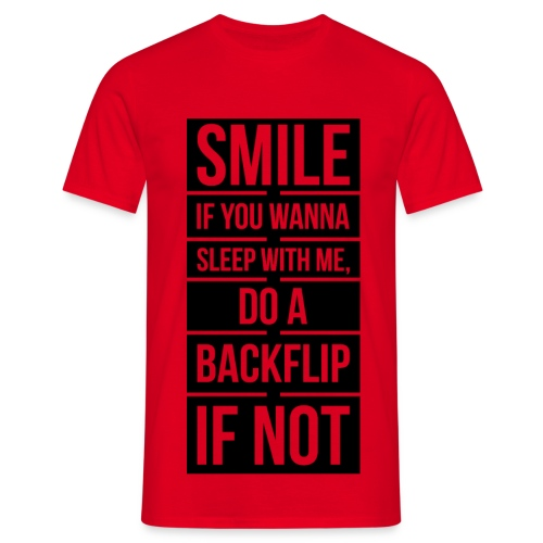 Men's Pickup Line T-Shirt (Black) - Men's T-Shirt