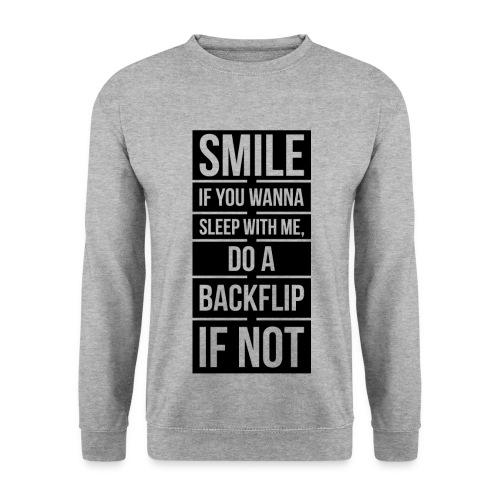 Men's Pickup Line Sweater (Black) - Men's Sweatshirt