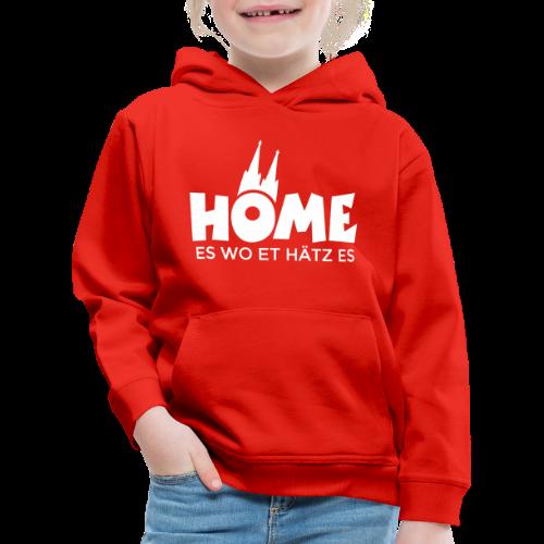 Home es wo et Hätz es Kinder Hoodie - Kinder Premium Hoodie
