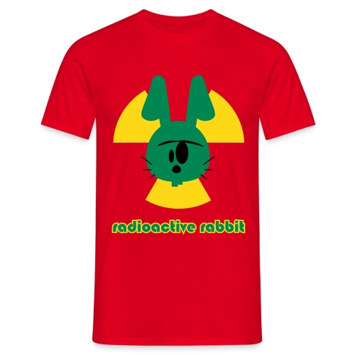 Radioactive rabbit Homme - T-shirt Homme