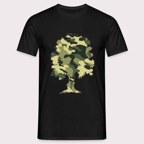 Bäume und Äste - Camouflage Shirt - Männer T-Shirt