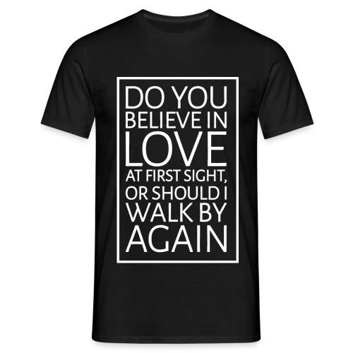 Men's Pickup Line T-Shirt (White) - Men's T-Shirt