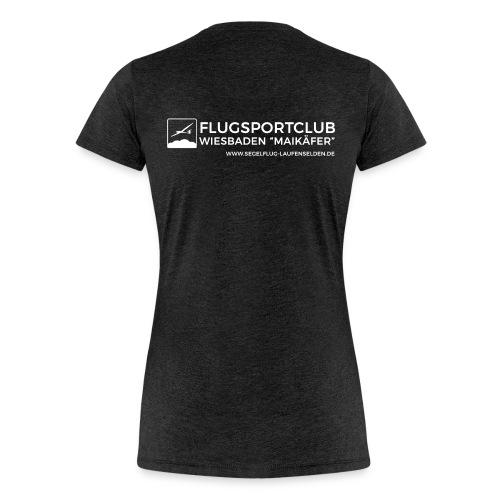Frauen Shirt Weiss - Frauen Premium T-Shirt