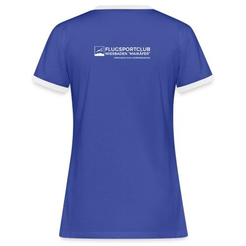 Frauen Shirt Vintage - Frauen Kontrast-T-Shirt
