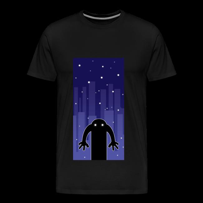 Haunt - Herre premium T-shirt