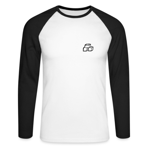 T-Shirt Baseball Homme IceCubees - T-shirt baseball manches longues Homme