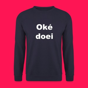 Mannen sweater 'Oké doei' - Mannen sweater