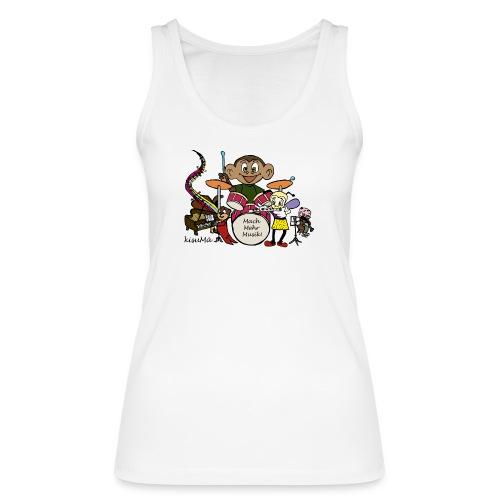 kisuMà-Damenshirt weiß - Frauen Bio Tank Top von Stanley & Stella