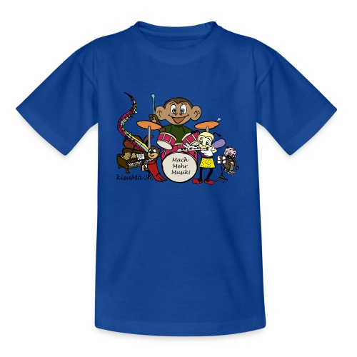 kisuMà-T-Shirt kids blau - Kinder T-Shirt