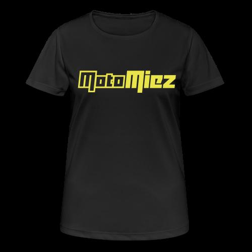 MotoMiez - Frauen T-Shirt atmungsaktiv