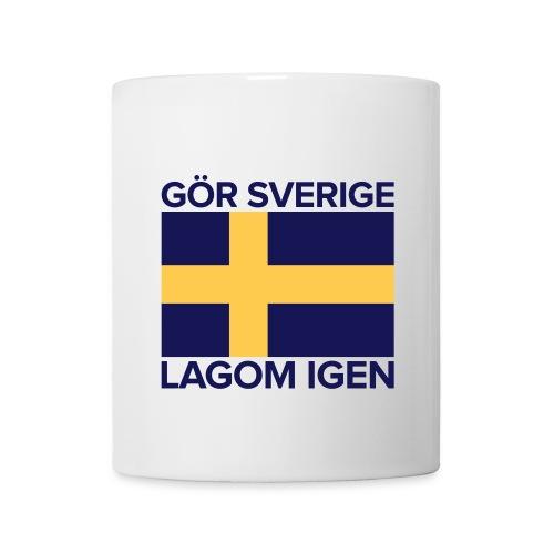 Kopp: Gör Sverige lagom igen - Mugg