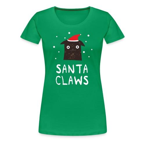 Santa Claws - Frauen Premium T-Shirt