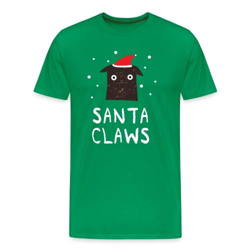 Santa Claws - Männer Premium T-Shirt