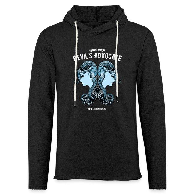 Gemini Moon Light Unisex Sweatshirt Hoodie