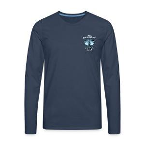 Gemini Moon Men's Premium Longsleeve Shirt - Men's Premium Longsleeve Shirt