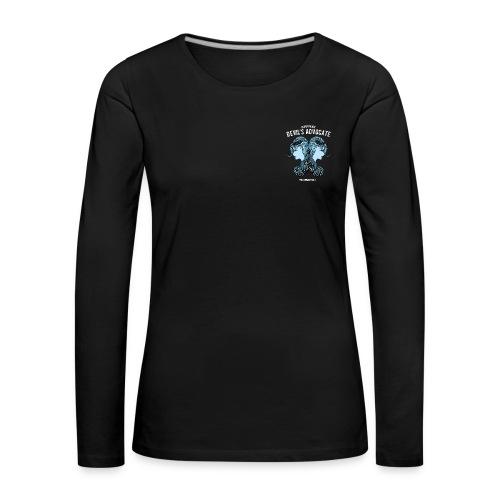Gemini Moon Women's Premium Longsleeve Shirt - Women's Premium Longsleeve Shirt