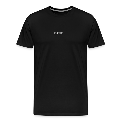 BASIC - Black - Männer Premium T-Shirt
