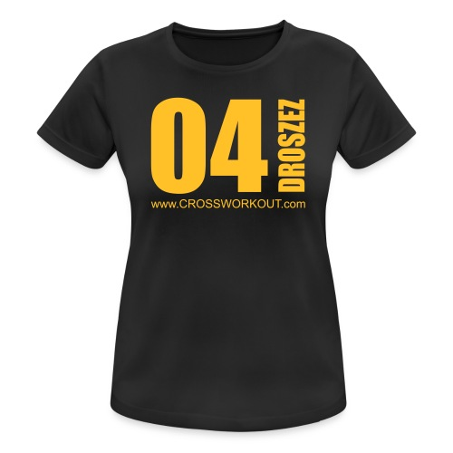 CrossWorkout ATHLETE 07 - Frauen - Frauen T-Shirt atmungsaktiv
