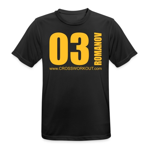 CrossWorkout ATHLETE 03 - Männer - Männer T-Shirt atmungsaktiv