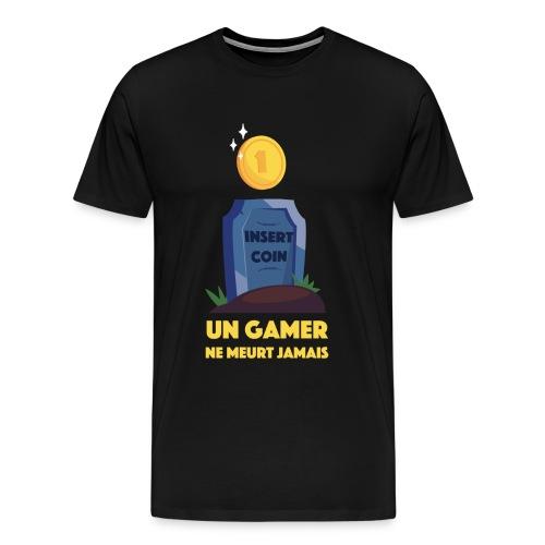 Tshirt InsertCoin Homme - T-shirt Premium Homme