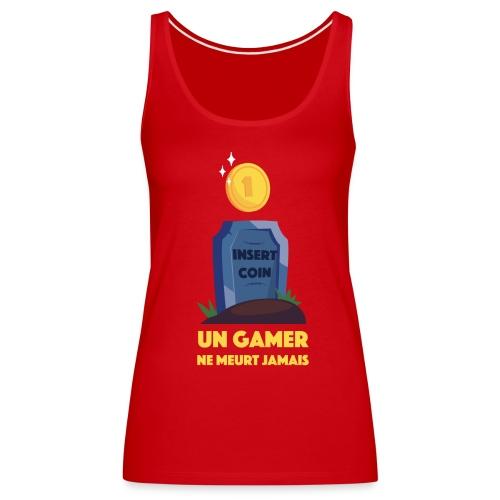 Tshirt Gamer Sans Manches Femme - Débardeur Premium Femme