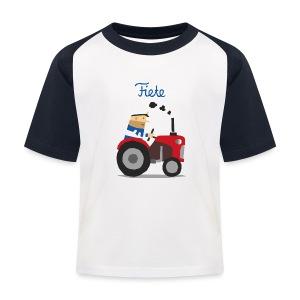 'Farm' Fiete Kids Baseball Shirt - navy - Kinder Baseball T-Shirt