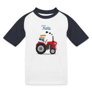 'Farm' Fiete Kids Baseball Shirt - black - Kinder Baseball T-Shirt