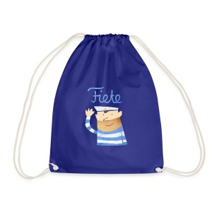 'Hello' Fiete Sports Bag - blue - Turnbeutel