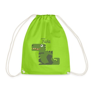 'Rex' Fiete Sports Bag - green - Turnbeutel