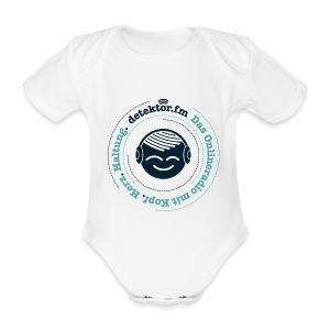 detektor.fm Babybody - Baby Bio-Kurzarm-Body
